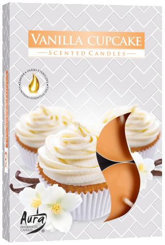 Cupcake de baunilha (6 unidades)