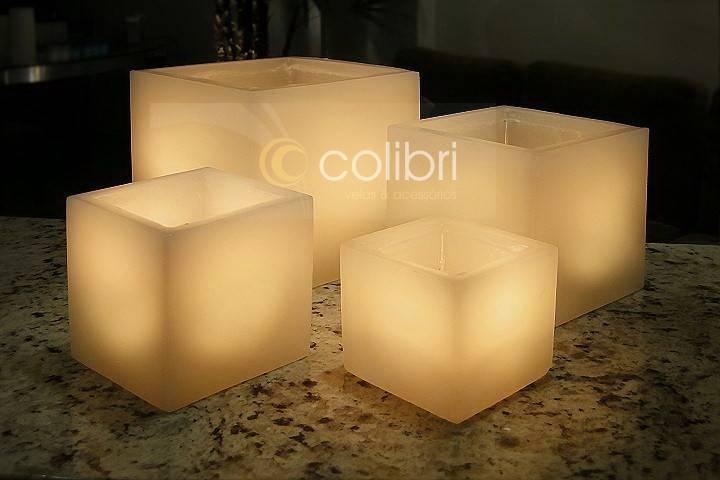 Luminária quadrada 15x15 (Unidade)