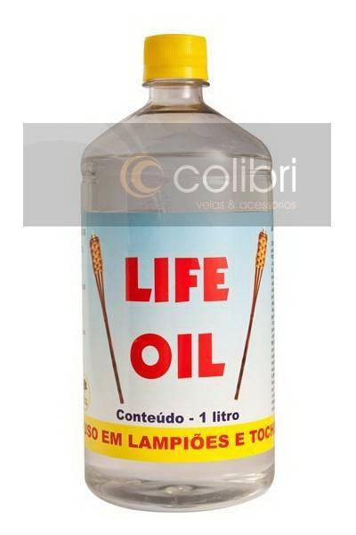Óleo sem citronela 1 litro (Inflamável)