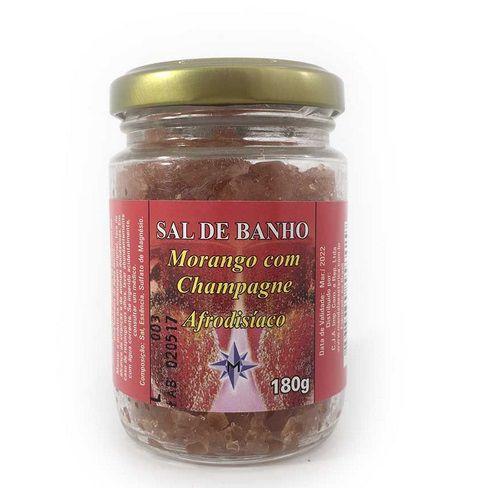Sal de banho Morango com Champanhe - 180g