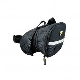 Bolsa de Selim Topeak Aero Wedge Pack Velcro Tamanho Médio - Modelo TC22618