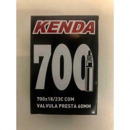 Câmara Kenda Aro 700 - Válvula Presta (fina) 60mm