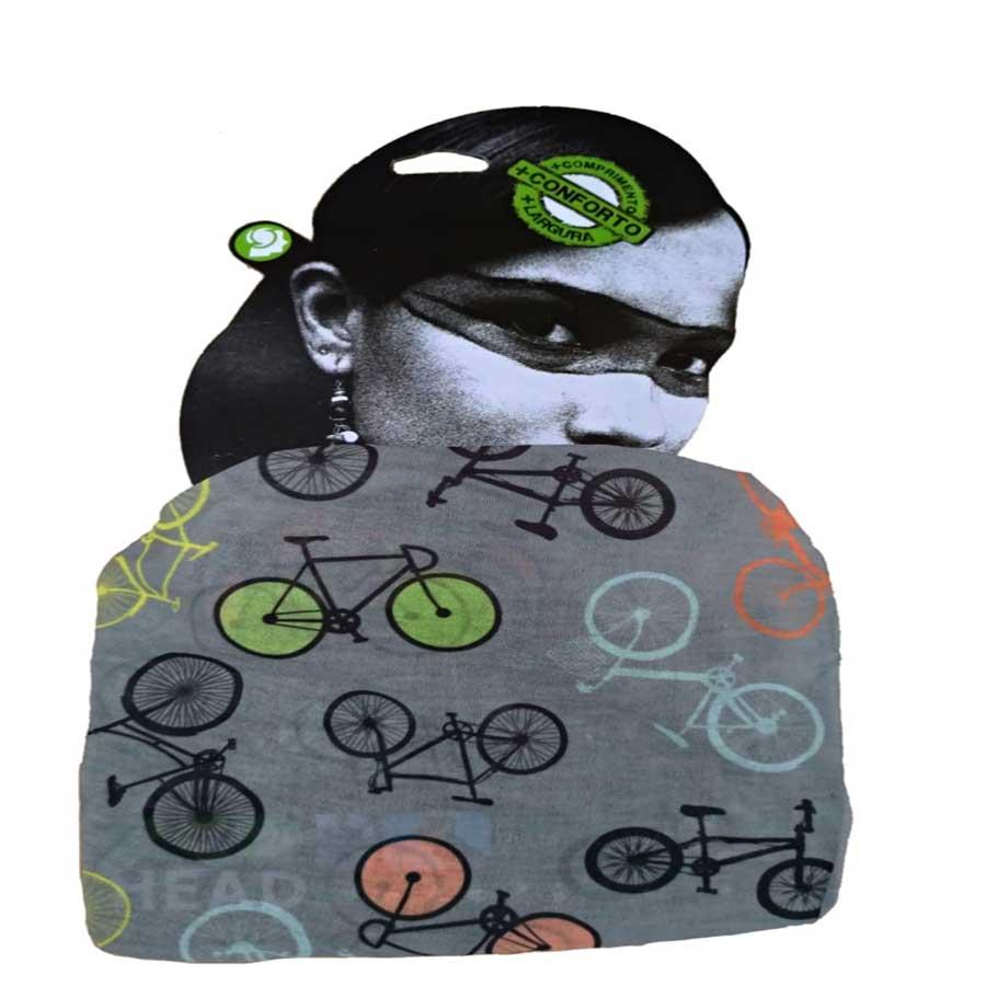 Bandana Multiuso Esporte e Lazer 100% Reciclável - Bike