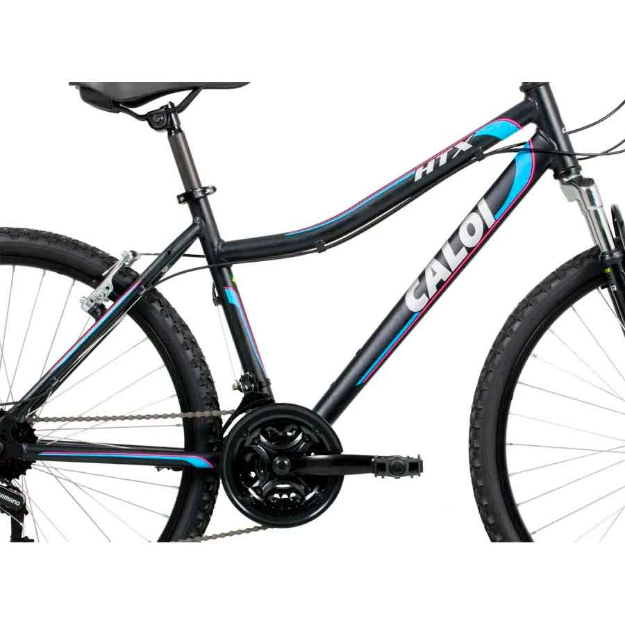 Bicicleta Caloi Alumínio HTX Feminina Aro 26