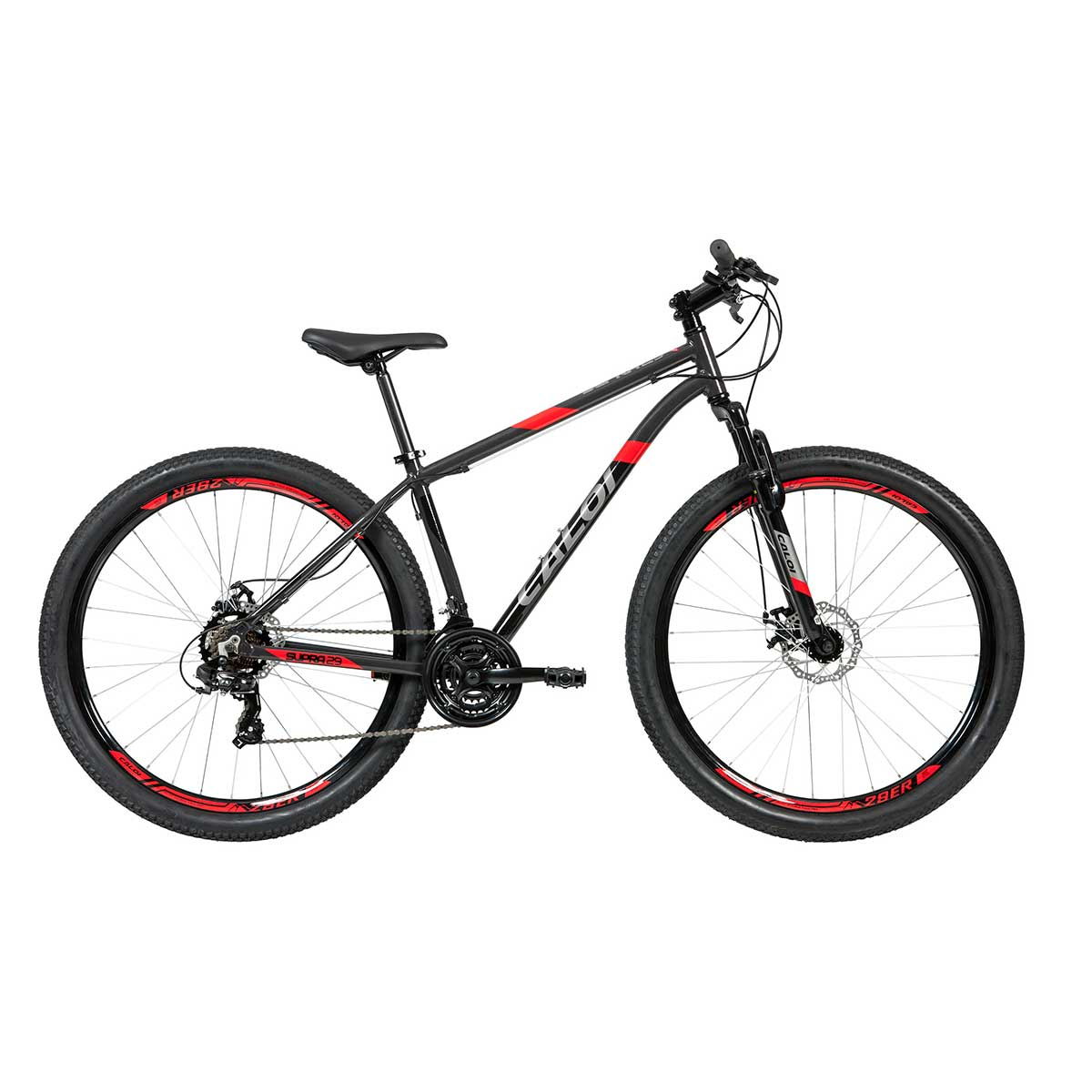 Bicicleta Caloi Supra MTB Mountain Bike Aro 29