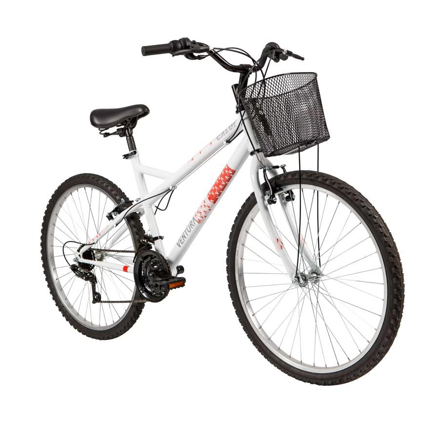 Bicicleta Feminina Caloi Ventura Urbana Aro 26