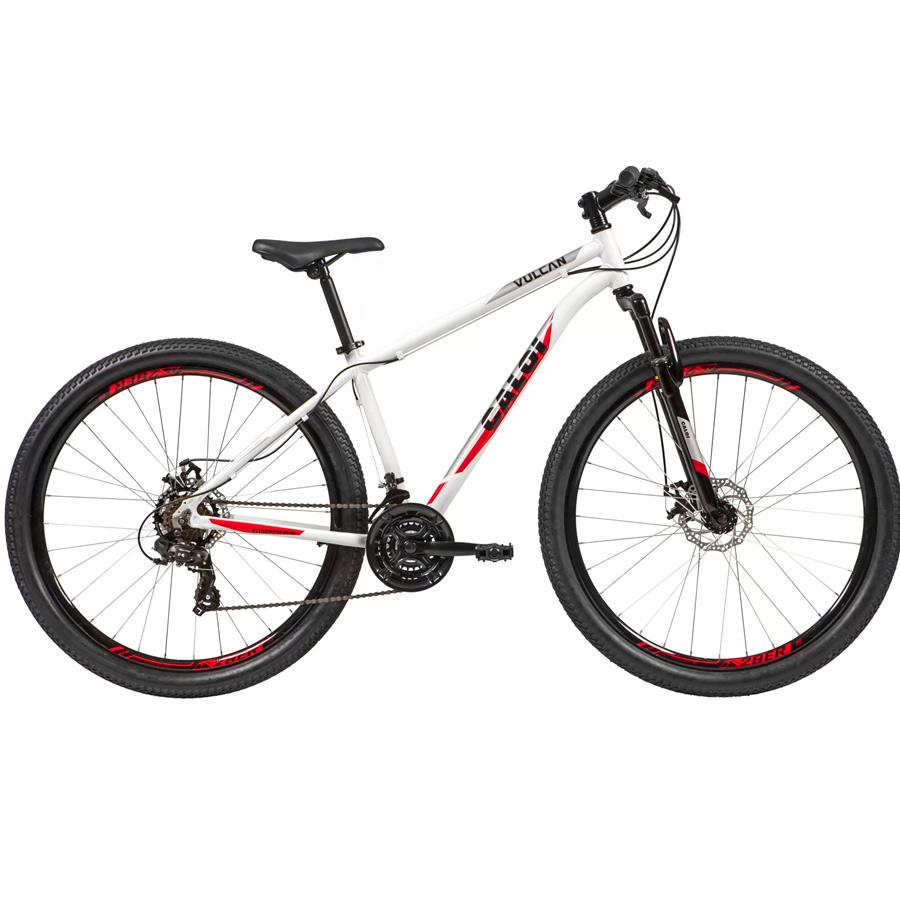 Bicicleta Caloi Vulcan MTB Mountain Bike Aro 29 - Lançamento 2021 z