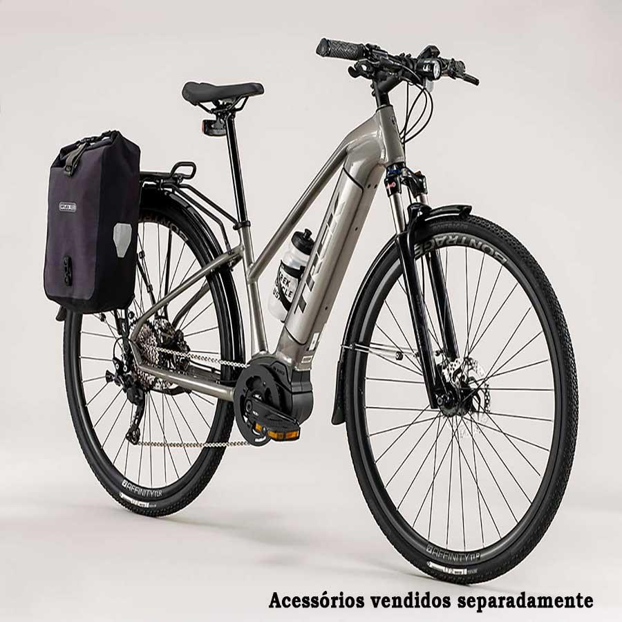Bicicleta Elétrica Trek Dual Sport + Plus Feminina