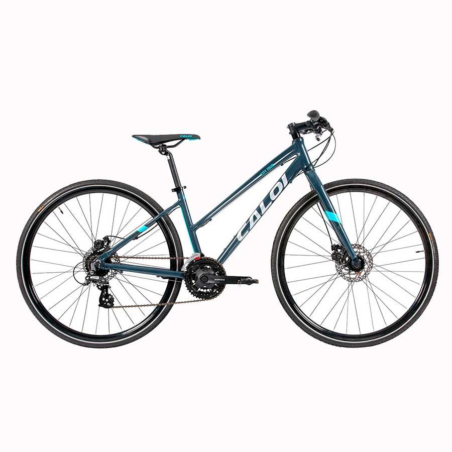 Bicicleta Hibrida Urbana Aro 700 Caloi City Tour Sport
