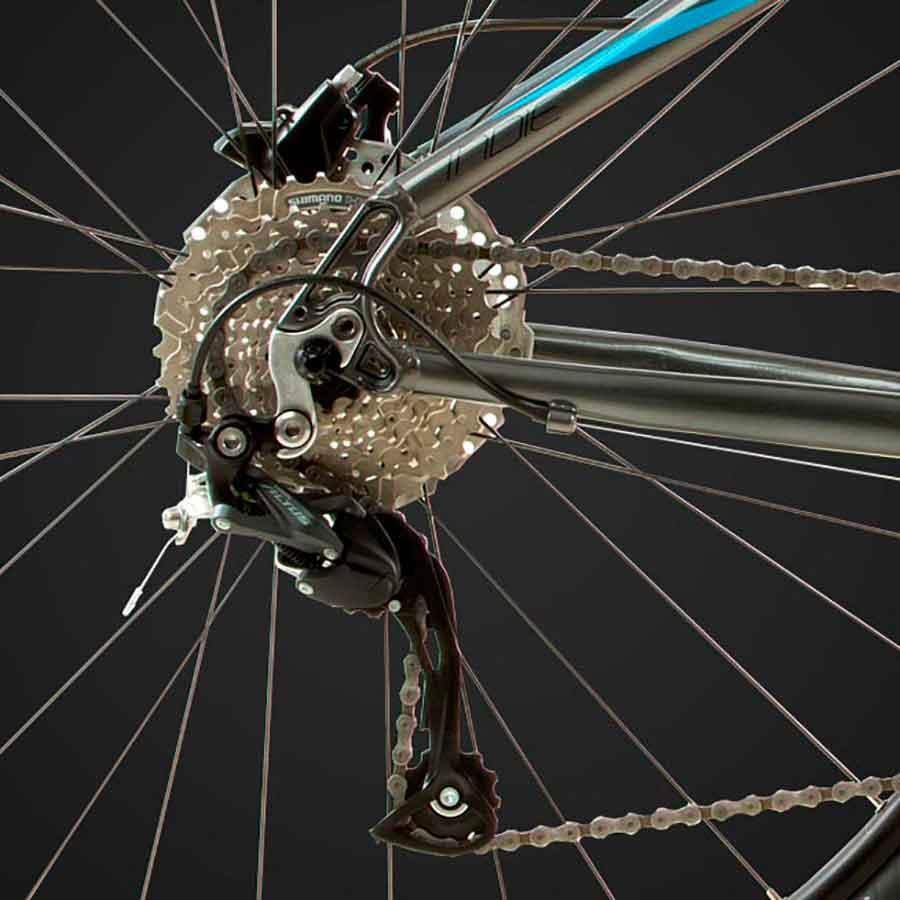 Bicicleta Feminina Mountain Bike Groove Indie 27V - Aro 29