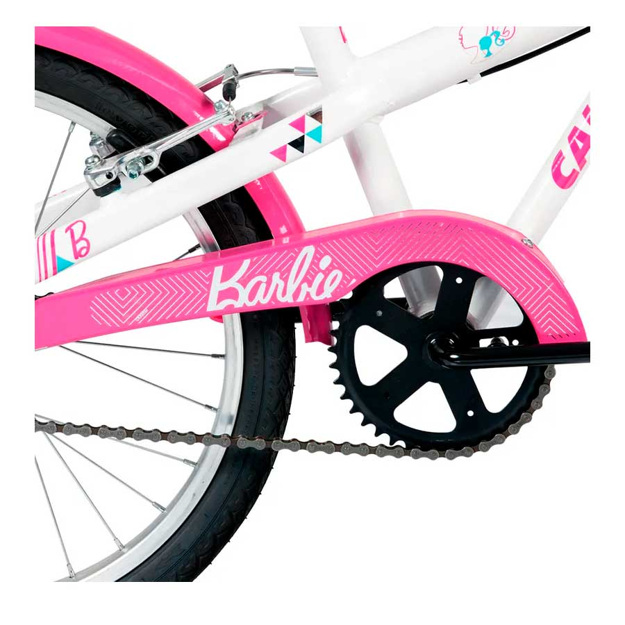 Bicicleta Infantil Caloi Barbie Aro 20