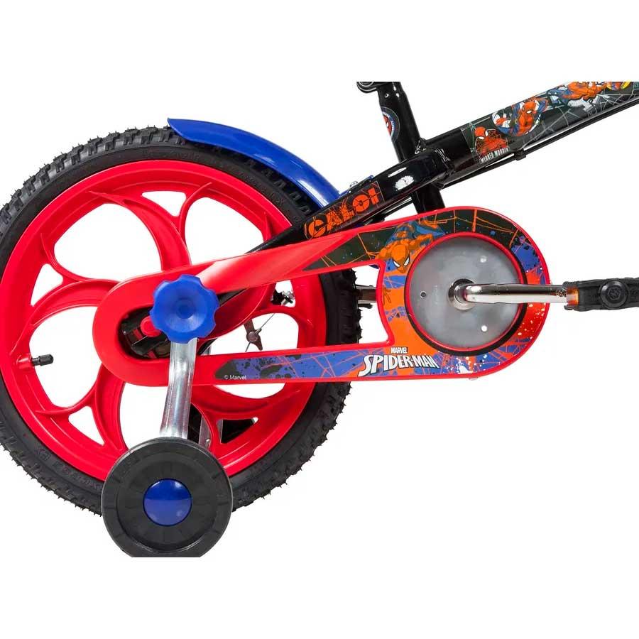 Bicicleta Infantil Caloi Homem Aranha Aro 16