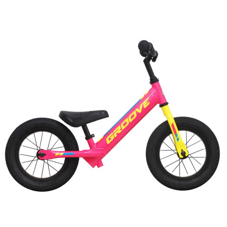 Bicicleta Infantil de Equilíbrio Groove Balance Bike Aro 12 - Rosa