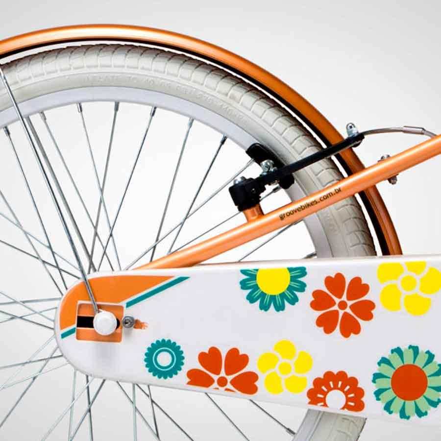 Bicicleta Infantil Groove Aro 20 My BIke Laranja
