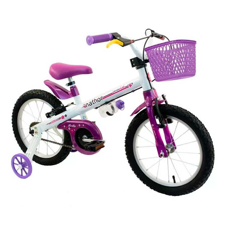 Bicicleta Infantil Nathor Bella Aro 16