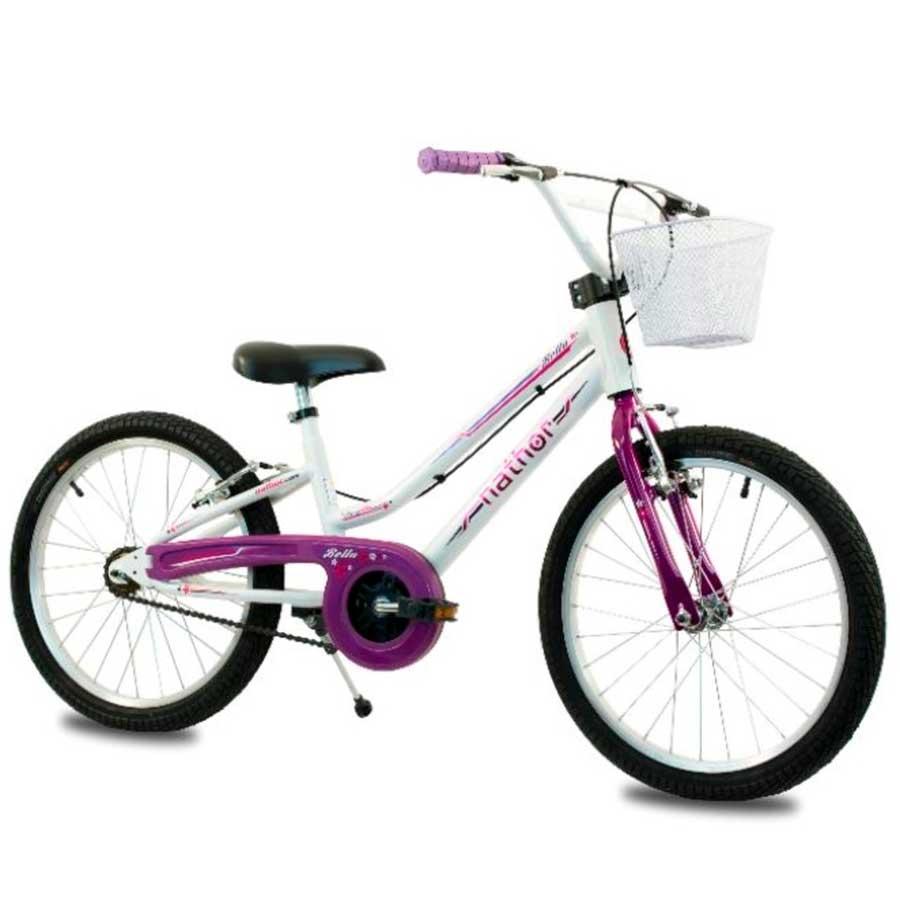 Bicicleta Infantil Nathor Bella Aro 20