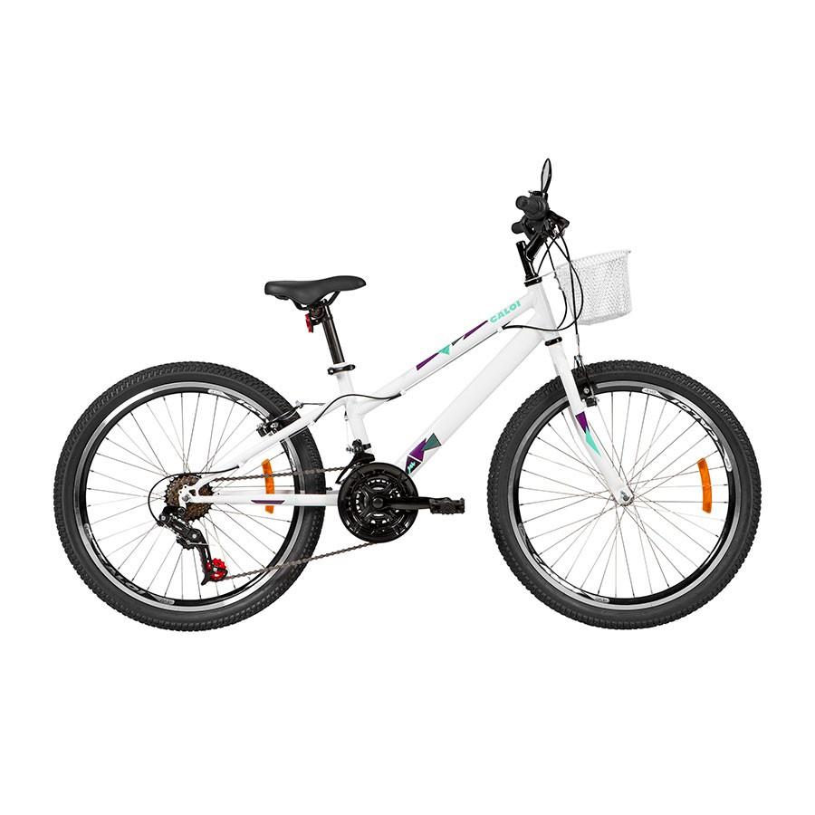 Bicicleta Juvenil Caloi Ceci Aro 24