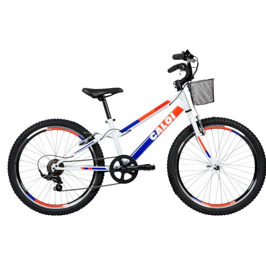 Bicicleta Juvenil Caloi Sweet Aro 24