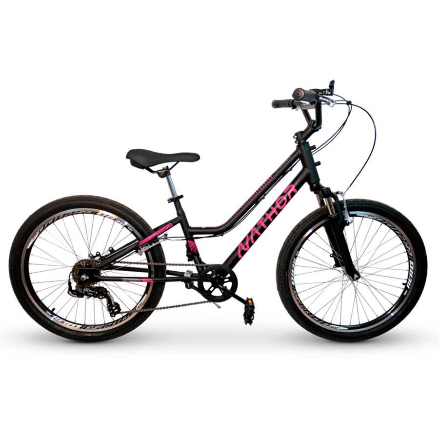 Bicicleta Juvenil Nathor Bella Aro 24
