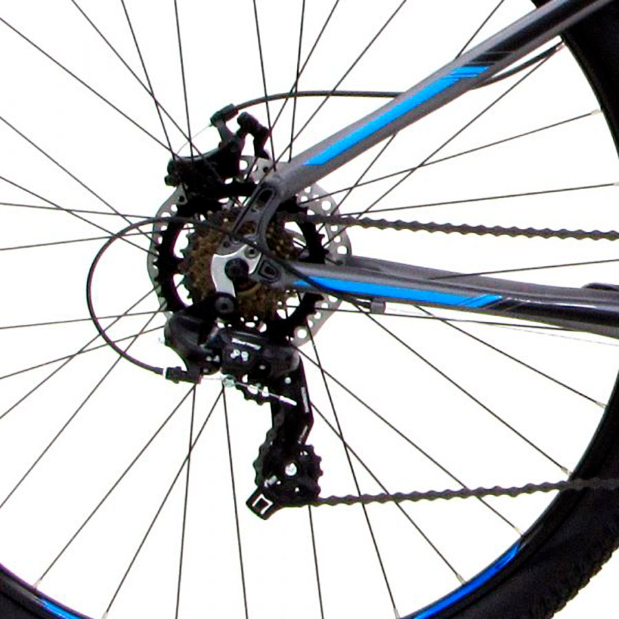 Bicicleta Mountain Bike Groove Hype 10 - Aro 29 - Freio Disco Mecânico - 21 Velocidades  - Ano 2021