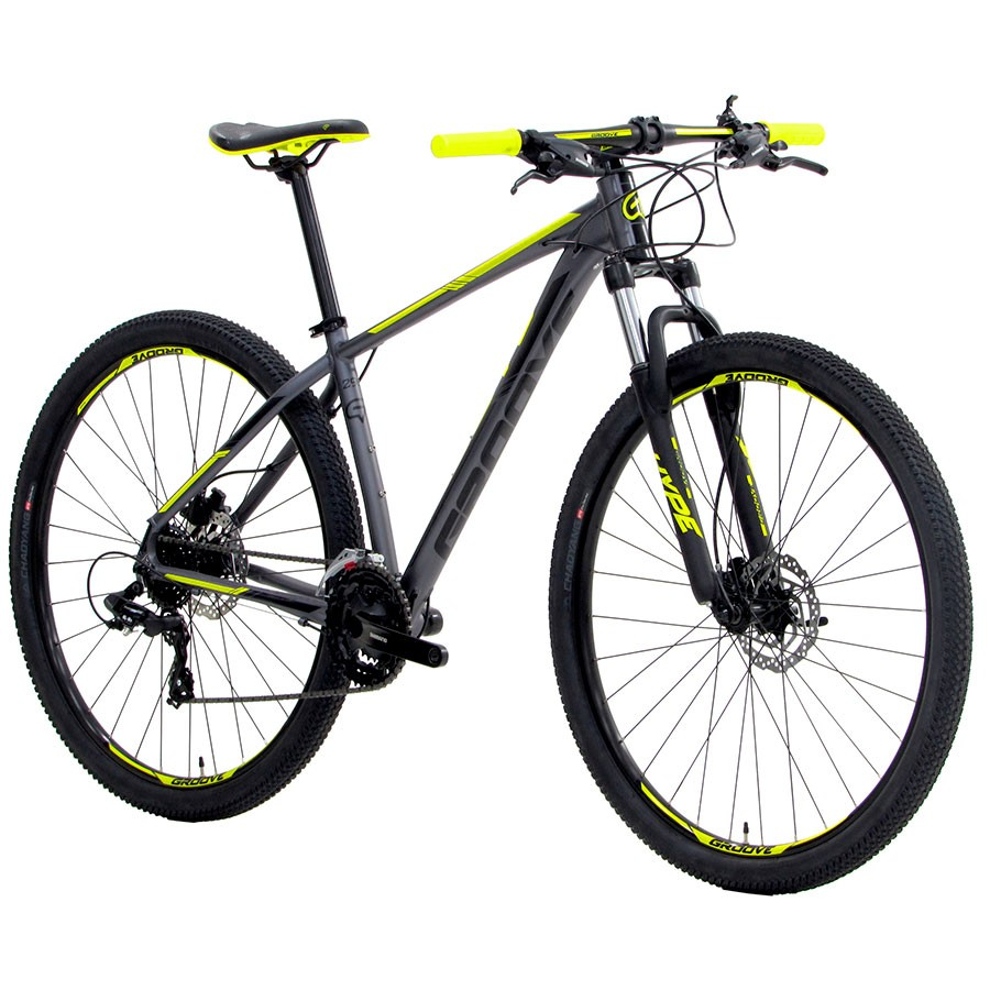 Bicicleta Mountain Bike Groove Hype HD 24 Velocidades Aro 29 - Ano 2021