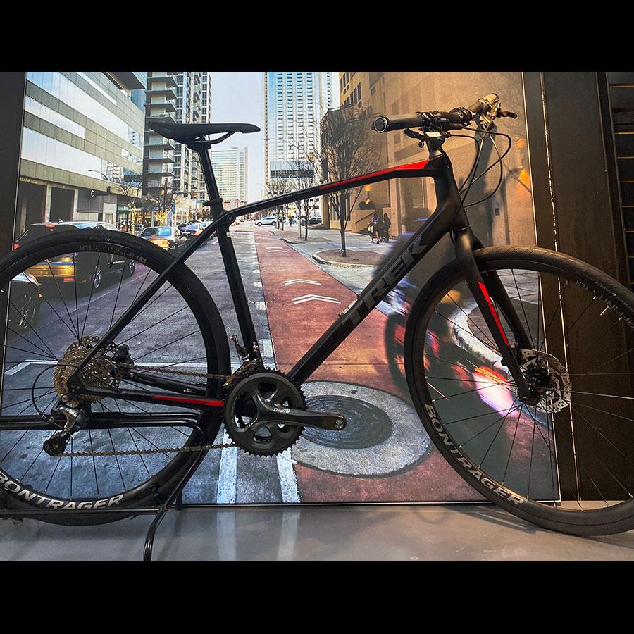 Bicicleta Trek FX 5 Híbrida Carbono Semi Nova