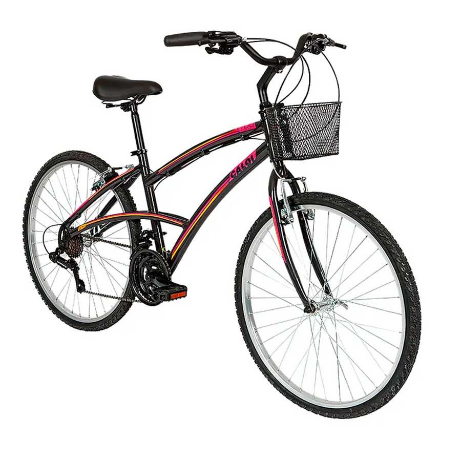 Bicicleta Urbana Aro 26 Caloi 100 Comfort Feminina