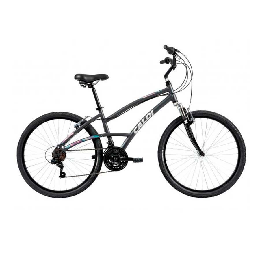 Bicicleta Urbana Aro 26 Caloi 500 Comfort Feminina