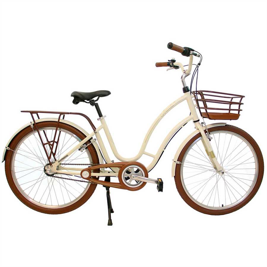 Bicicleta Urbana Feminina Estilo Retrô Aro 26 Nathor Antonella
