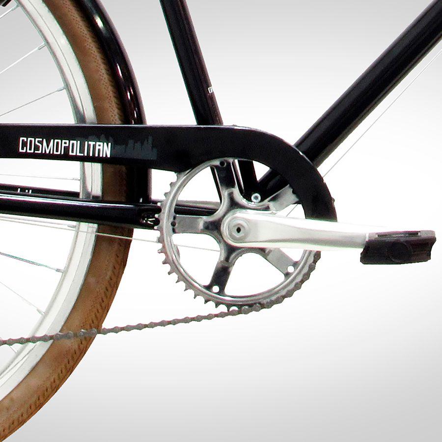 Bicicleta Urbana Retrô Feminina Groove Cosmopolitan - Aro 700