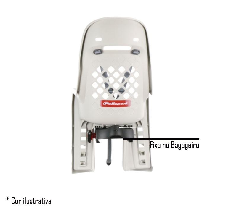 Cadeira Infantil Traseira Polisport Joy - Prende no Bagageiro
