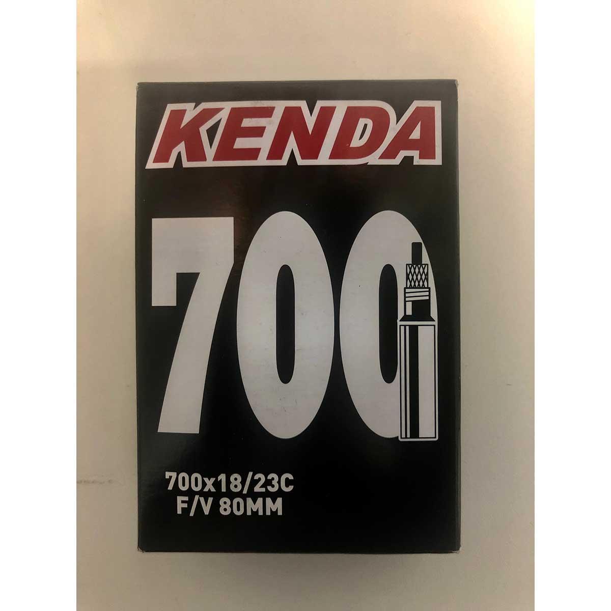 Câmara Kenda Aro 700 - Válvula Presta (fina) 80mm