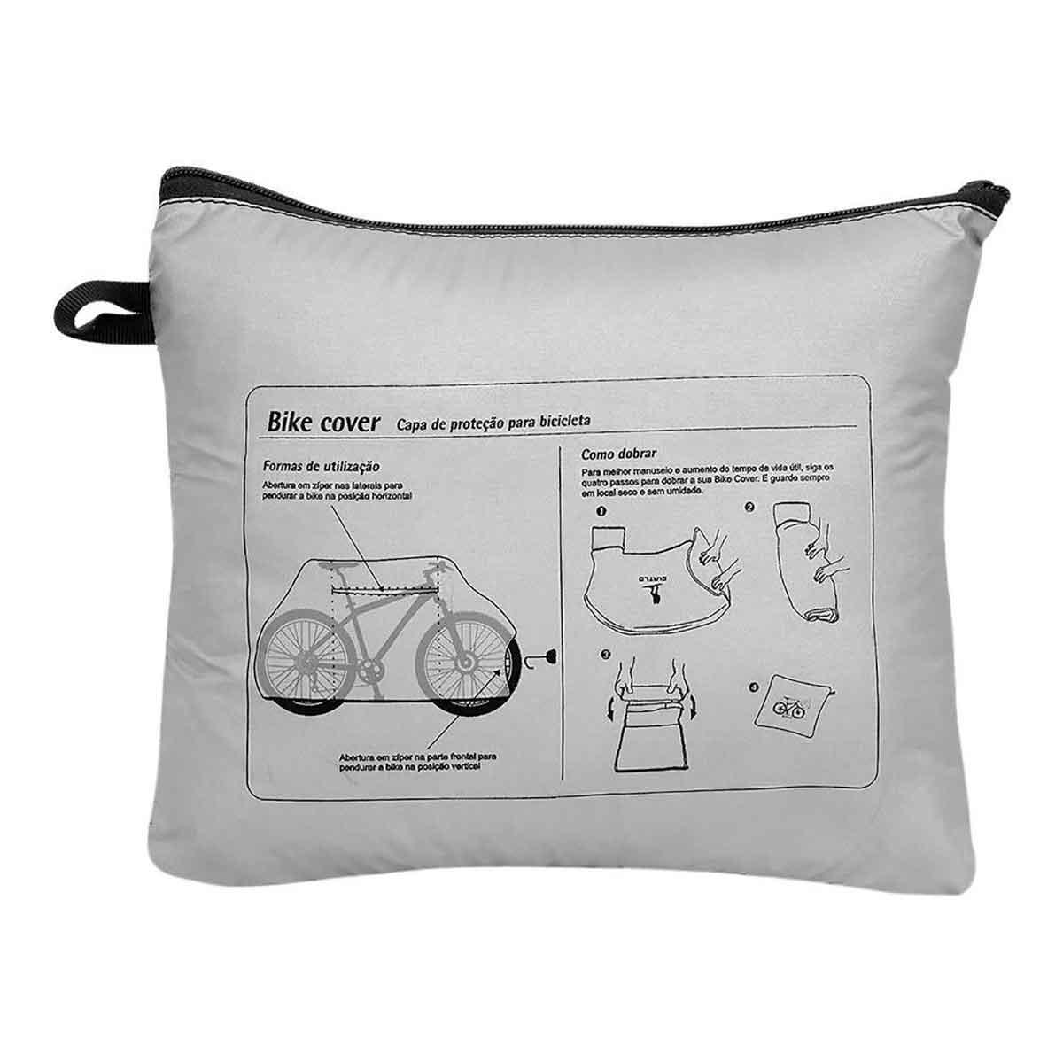 Capa de Proteção Bicicleta Curtlo Bike Cover - Aro 26 / 27,5 / 29 / 700