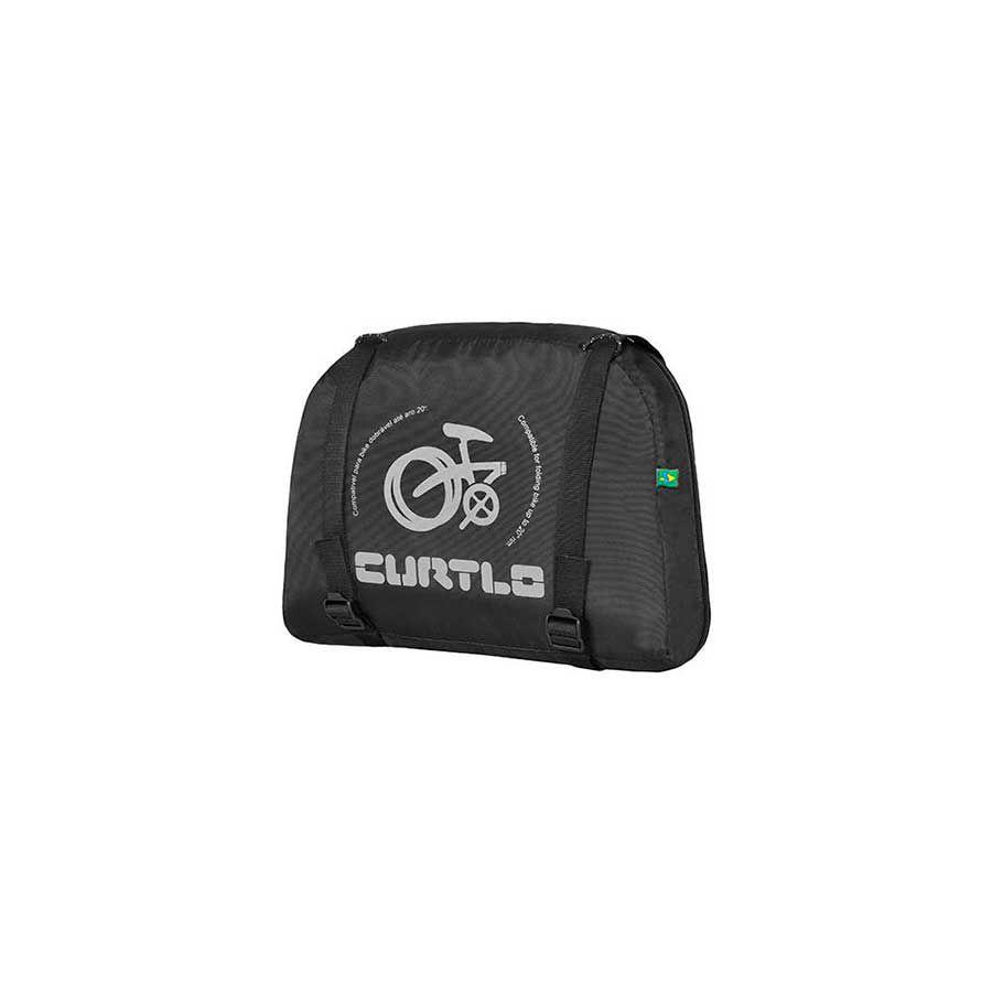 Mala Bike Para Transporte de Bicicleta Curtlo Para Bicicleta Dobrável