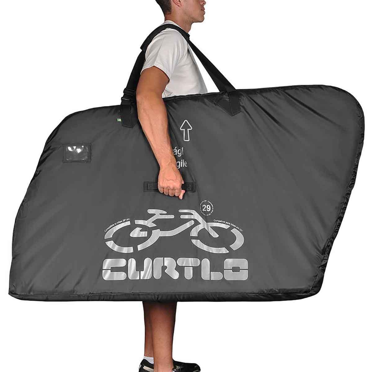 Mala Bike Para Transporte de Bicicleta Curtlo - Compatível com Aro 29