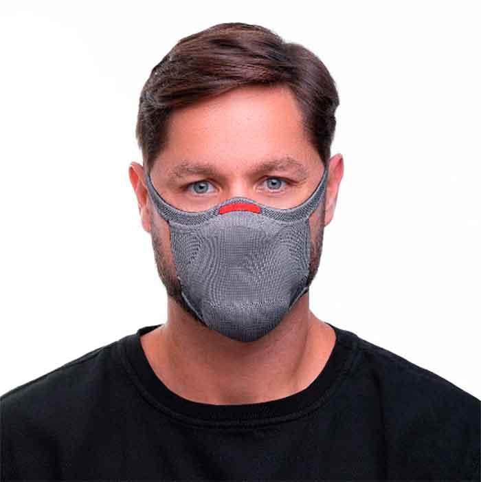 Mascara de Proteção Para Esporte Com Filtro Tecnologia 3D Knit