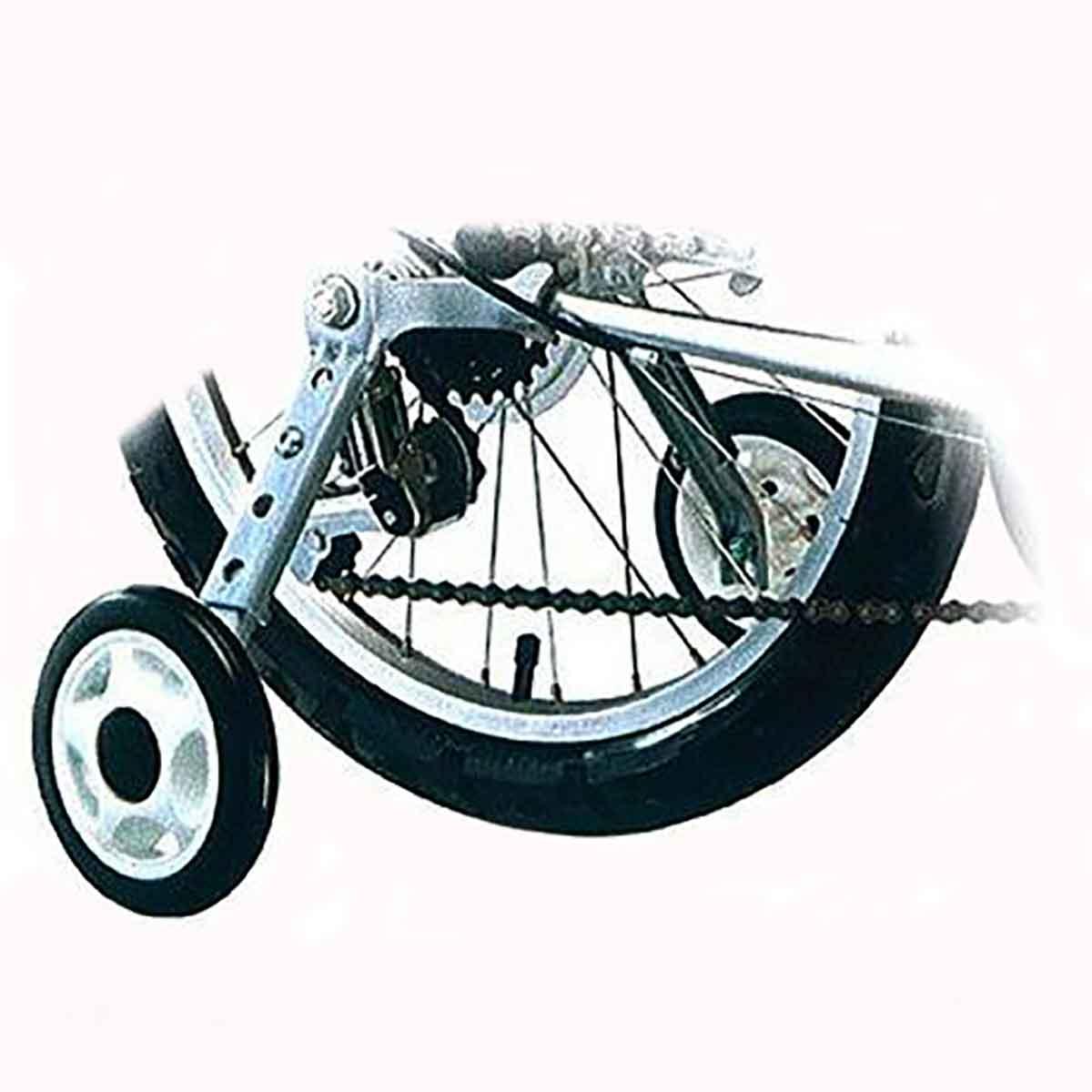 Rodinha Lateral Com Regulagem Importada Para Bicicletas Com Câmbio - Aro 16/24