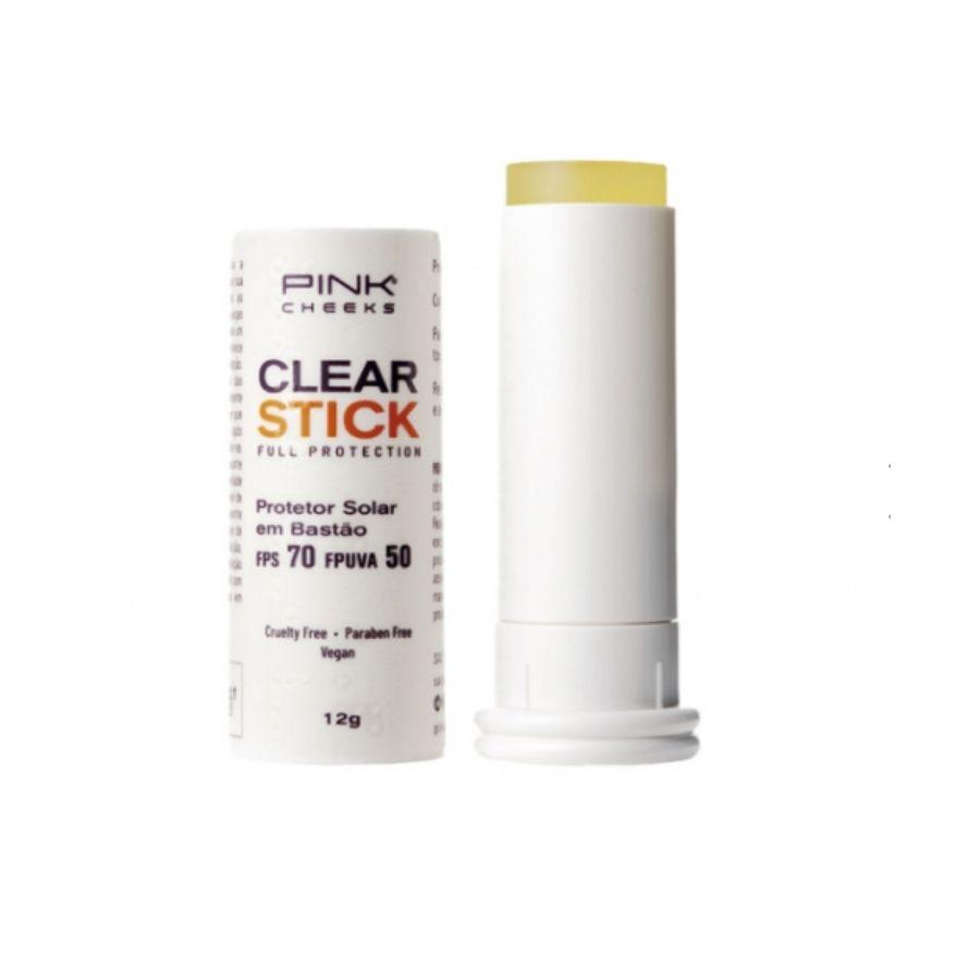 Protetor Solar Pink Cheeks Transparente FPS 70