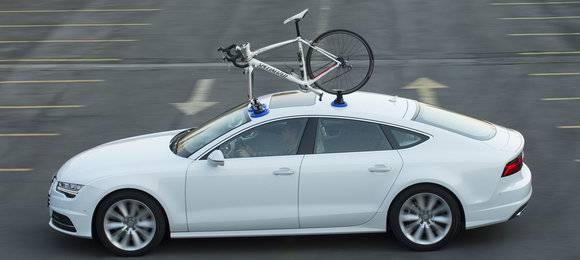 Suporte Teto Leva Bike 3HM - Preso Por Ventosa