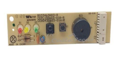 Placa Receptora Display Piso Teto Carrier 18 à 60.000 Btus