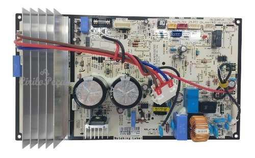 Placa Condensadora LG Inverter  9.000 Btus (asuw092hdw0)