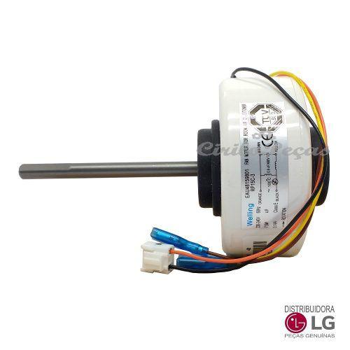 - Motor Ventilador Evaporadora Lg 7-9-12.000 Btus