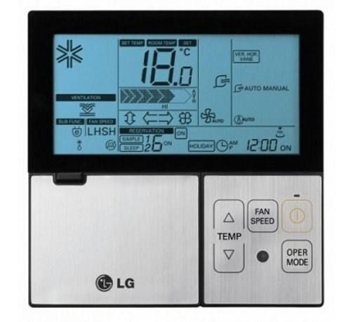 Controle Remoto Ar Condicionado Lg Premtbba1-AKB73355724