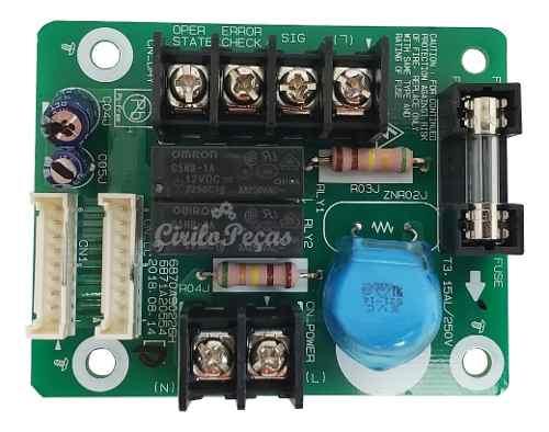 Placa Controle Automático, Liga / Desliga Ar Condicionado