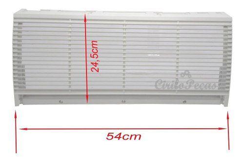 Grelha Grande Ar Piso Teto Carrier 36/48/60.000