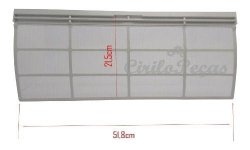 Filtro Grande Ar Condicionado Piso Teto Carrier Springer 60.000 Btu