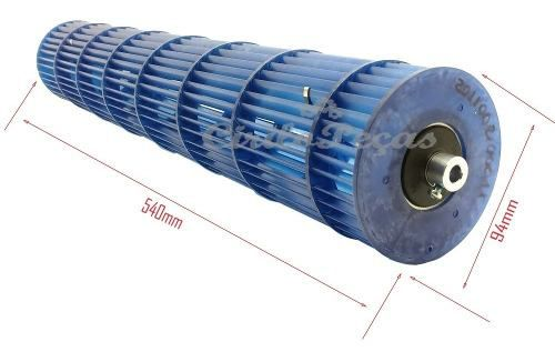 Turbina Evaporadora Springer Carrier Midea 7/9.000 Btus (0011)