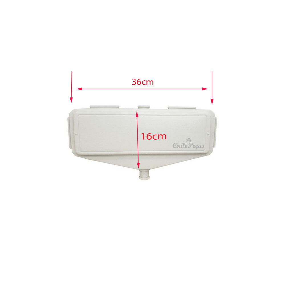 Caixa De Passagem Dreno modelo M c/ 1saida Branca