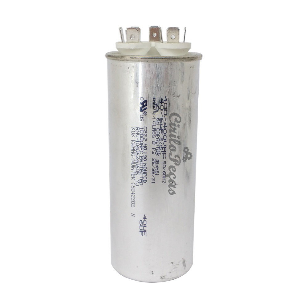 - Capacitor 40 + 6uf Ar Condicionado Lg 18.000 Btus