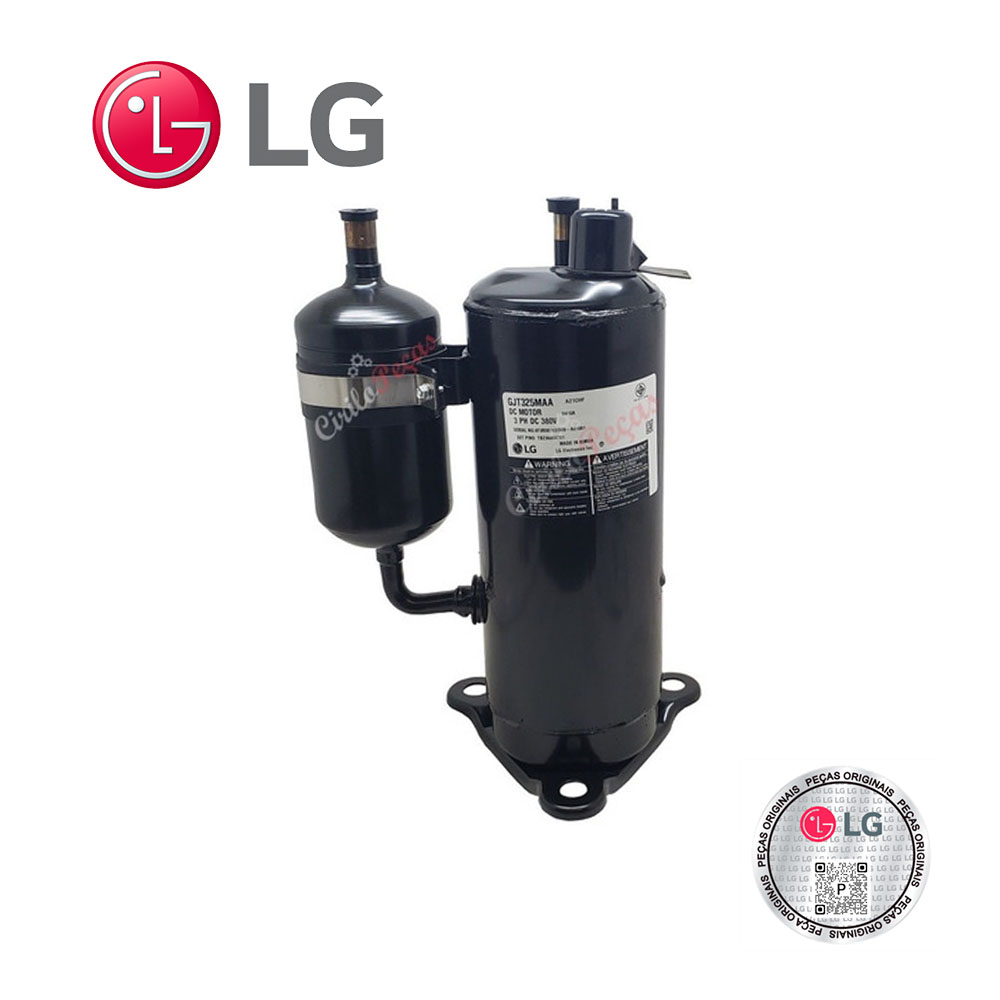Compressor LG TBZ36856701 Modelo Auuq48gh2